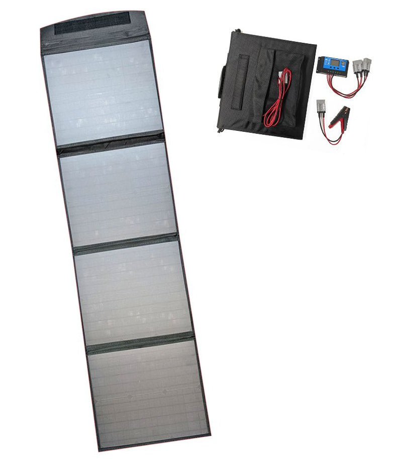120 Watt 12 Volt Folding Solar Blanket Only 4.5KGS with Accessories