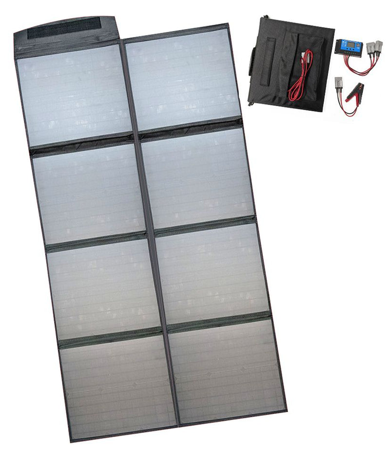 200 Watt 12 Volt Folding Solar Blanket Only 7KGS with Accessories