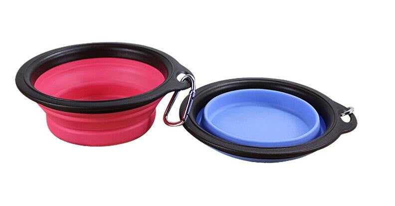 Silicone Folding Dog/Cat Feeding/Watering Bowl - Sales67
