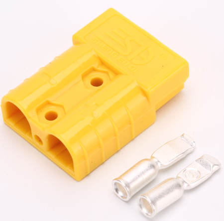 Yellow 50 AMP Anderson Style Plug Single - Sales67