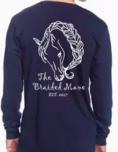 Adult The Braided Mane Logo Long Sleeve
