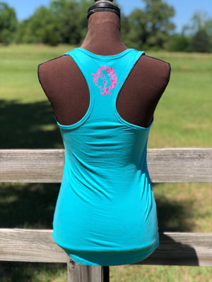 The Braided Mane Razor Back Tank