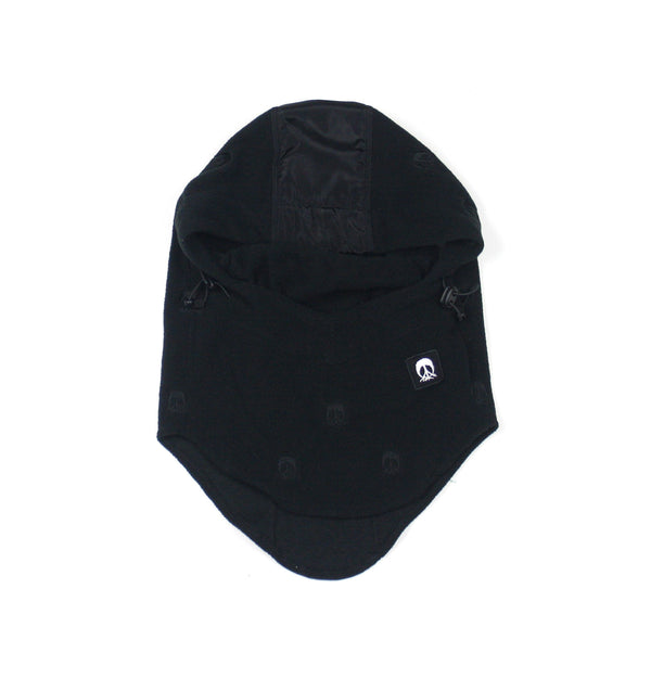 Face Mask Hood - Black