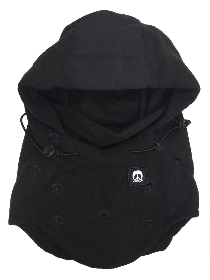Hooded Face Mask-BLACK