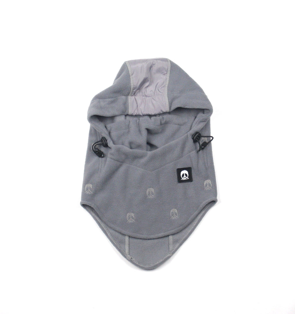 Hooded Facemask - Gray