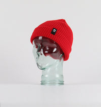 Inside Out Beanie Red