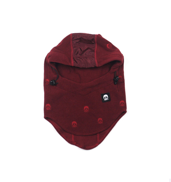 Face Mask Hood - Burgundy *NEW* Fall 18