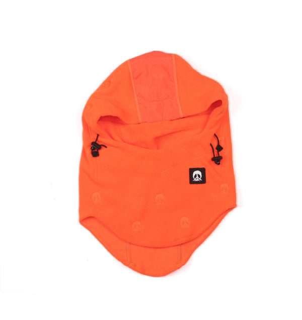 Face Mask Hood - Orange