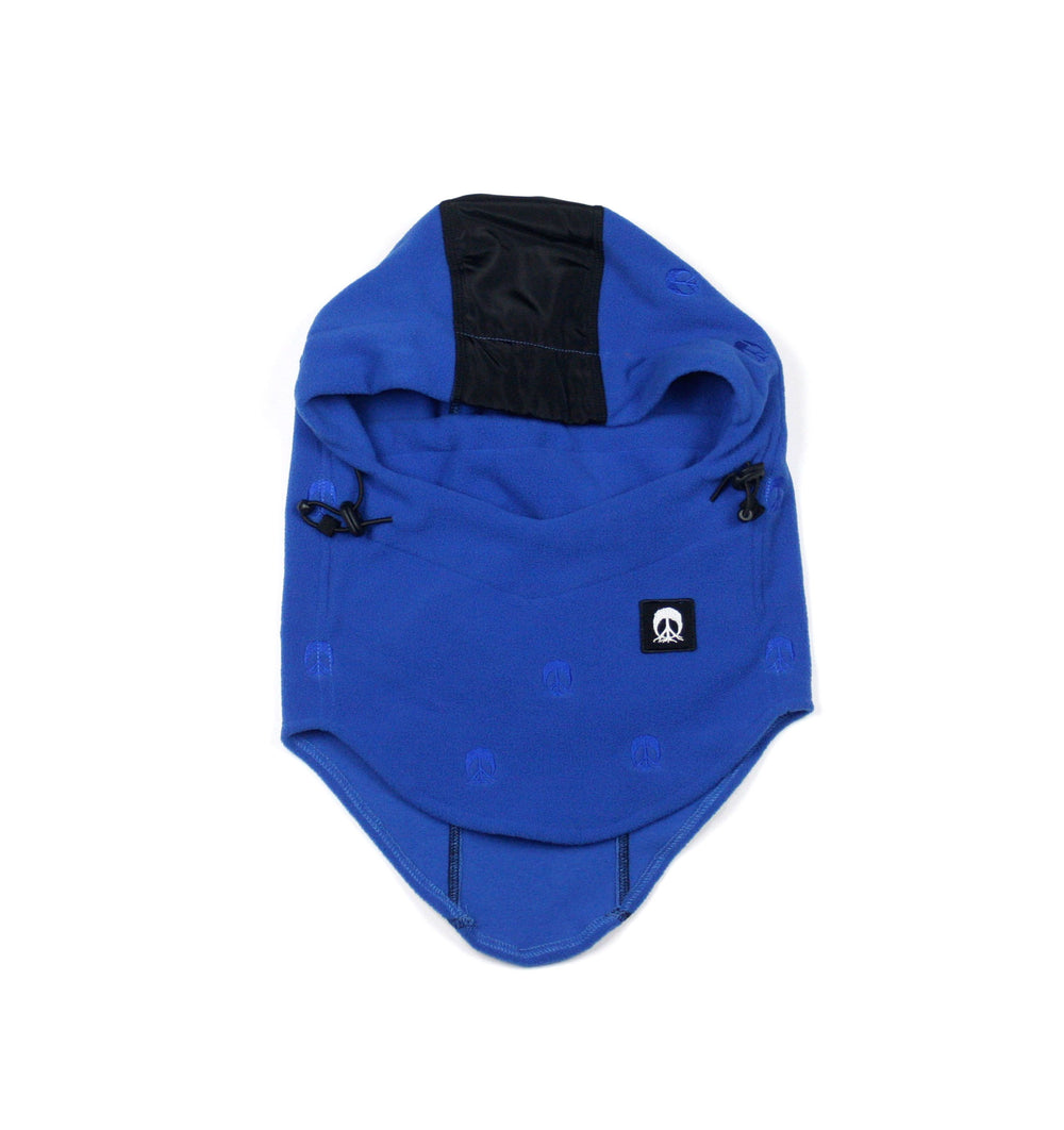 Face Mask Hood - Royal & Black