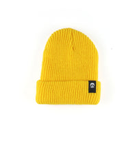 Inside Out Beanie Gold