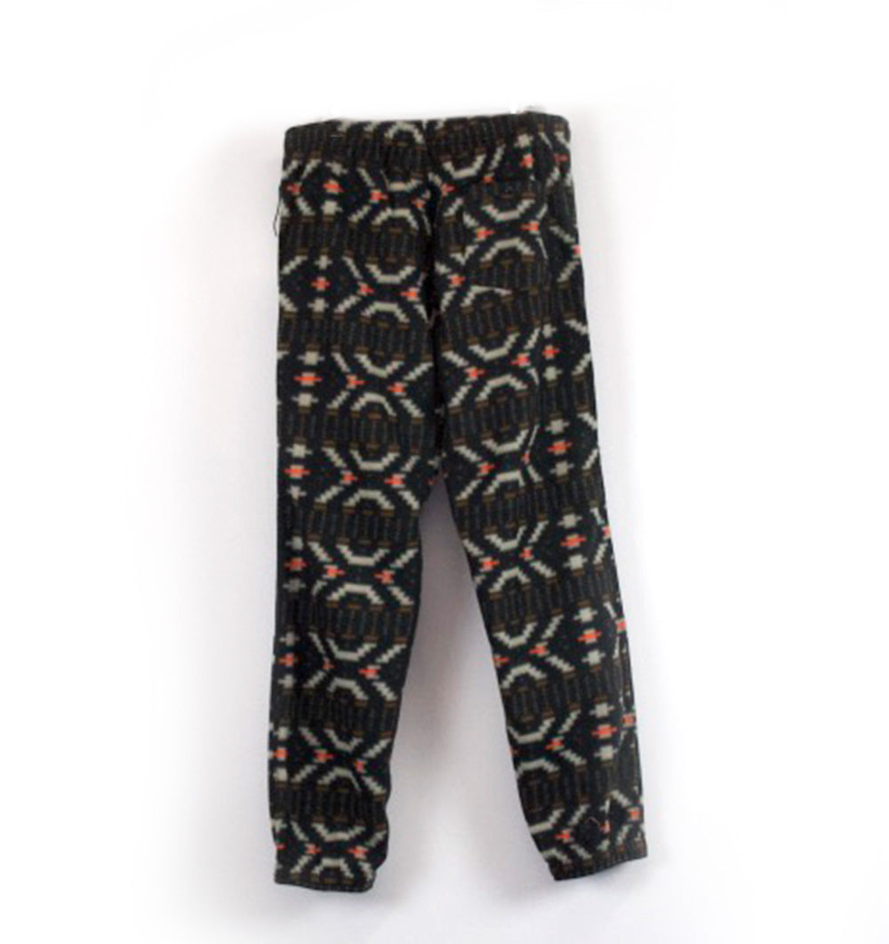 Black Zorched Polar Fleece Pant