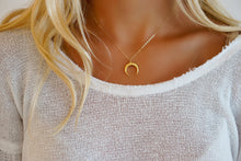 14k Gold Filled Horn Necklace
