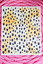 Leopard Watercolor Print