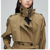 70% OFF  Autumn Top Trench Coat Double Breasted