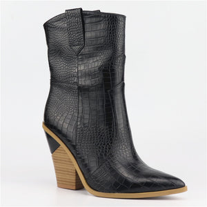 New Western ankle boots for women