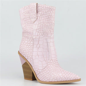 50% OFF New Western ankle boots for women