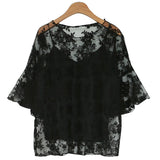 New Fashion Two Pieces Embroidery Blouse