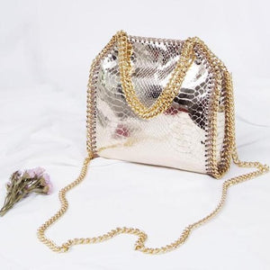 Exclusive Mini Gold and Silver Crossbody