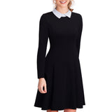 50% OFF Elegant Formal Work Office Business Pleated A-line Dress