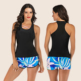Sport Style Two Pieces Summer Tops With Shorts