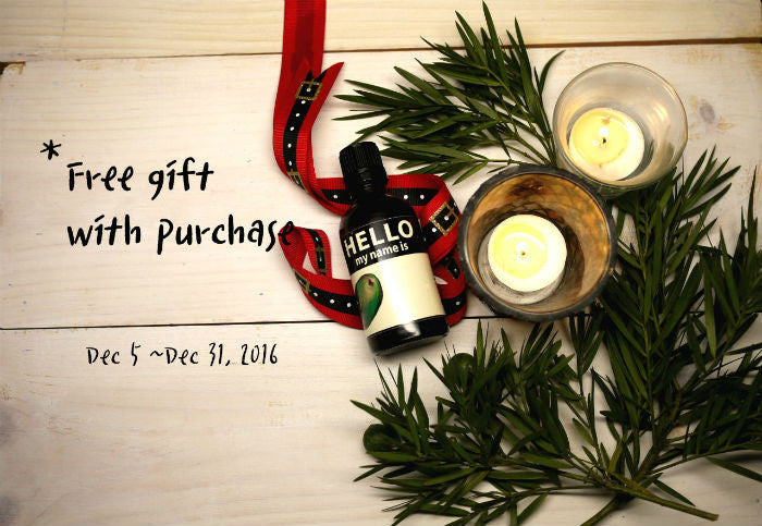 Free Gift with Purchase for 2016 Holiday