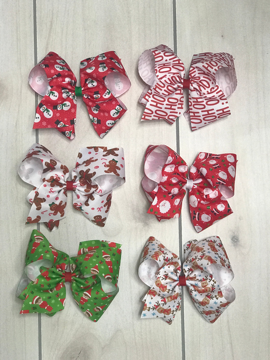 King Size Wee Ones Christmas Bows - Adalynn's Attic