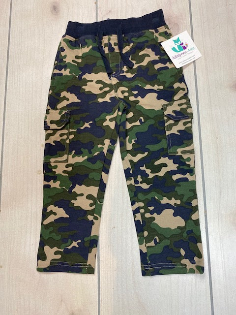 CR Sports Boys Camo Pants
