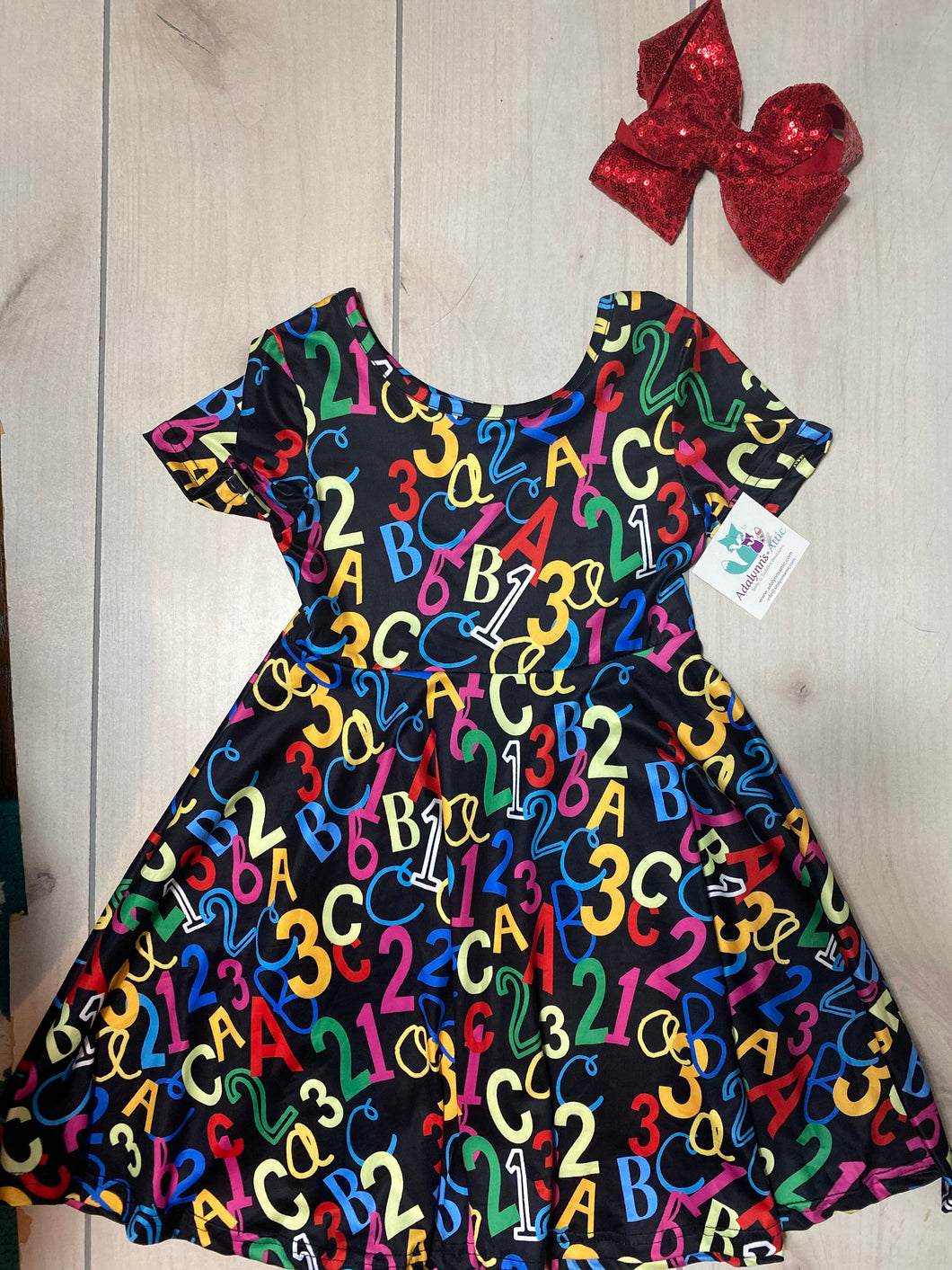 Girls Back to School Dress