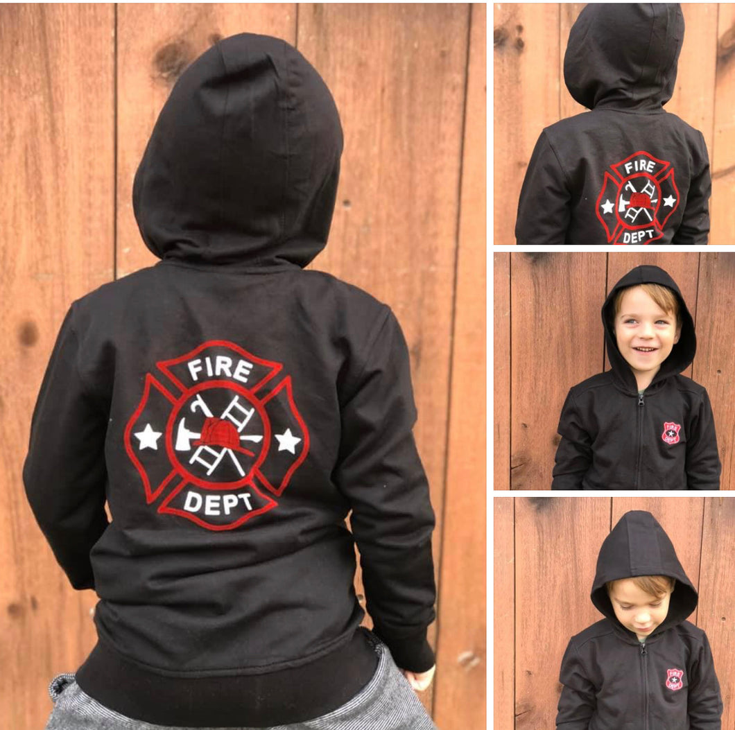 CR Sports Boys Fire Department Hoodie