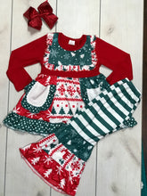 Girls Holiday Snowflake Set