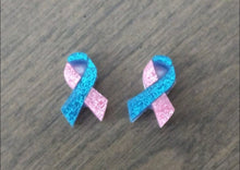 Pregnancy and Infant Loss Glitter Earrings