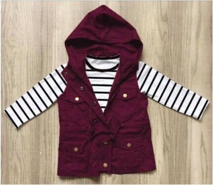 Girls Burgundy Vest and Shirt Set