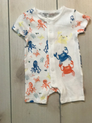 Minoti Boys Under the Sea Romper