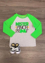 Boys Pinch Proof Raglan