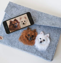 3D Pet Portrait on a Bag or Tablet Cover