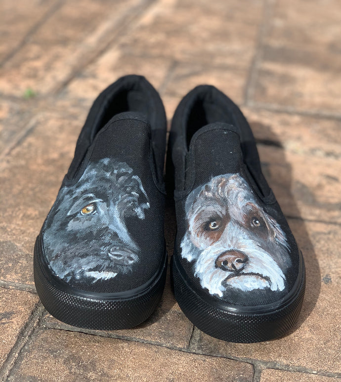 Pet Portrait Shoes