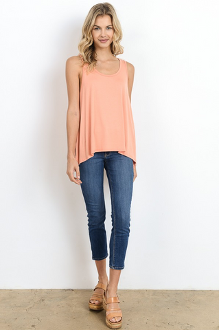 Relaxed Fit Tank- Stylishly Stated