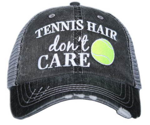 Tennis Hair Don't Care Hat- Stylishly Stated