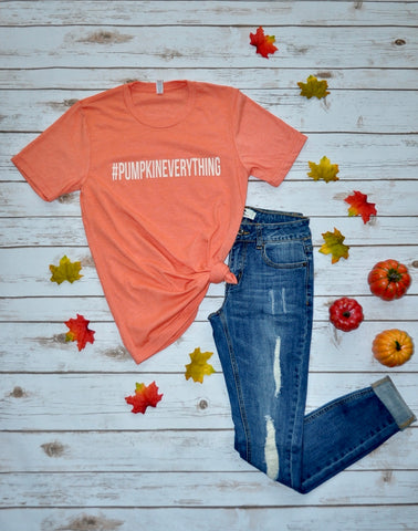 #Pumpkineverything Tee Stylishly-Stated