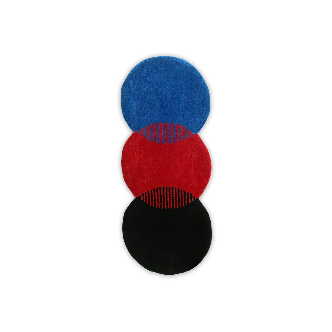 KEEPGOING Circles Logo Accent Rug