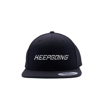 KEEPGOING Stitch Snapback