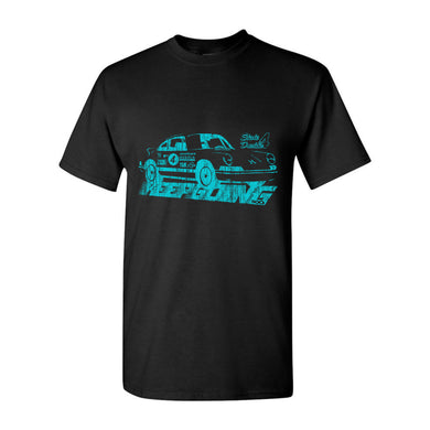 KEEPGOING 500 Vintage Racing T-Shirt (Black)