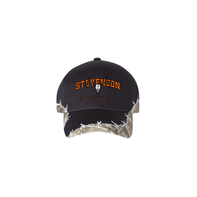 Stevenson Ranch Barbed Wire Camo Hat (Black)