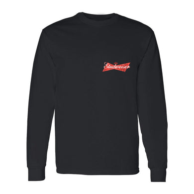 Studweiser Long Sleeve T Shirt (Black)