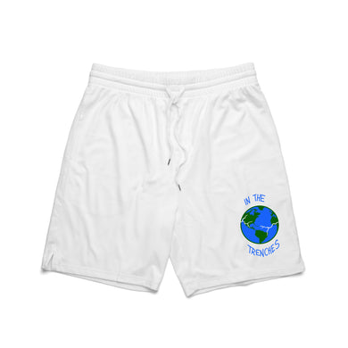 In The Trenches World Mesh Shorts