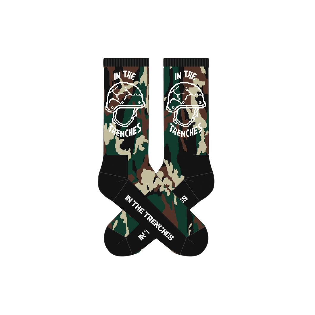 In The Trenches Socks (Camo)