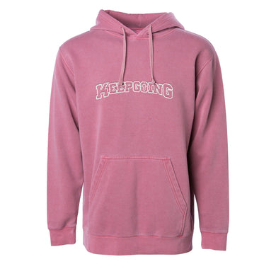 Embroidered KEEPGOING Vintage Hoodies