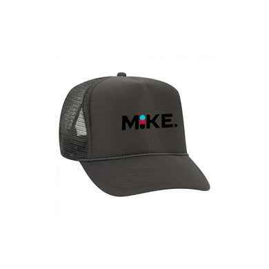 mike. KEEPGOING Circles Logo Trucker hat