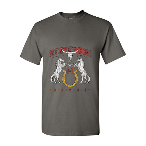 Vintage Stevenson Ranch T-Shirt (Charcoal)