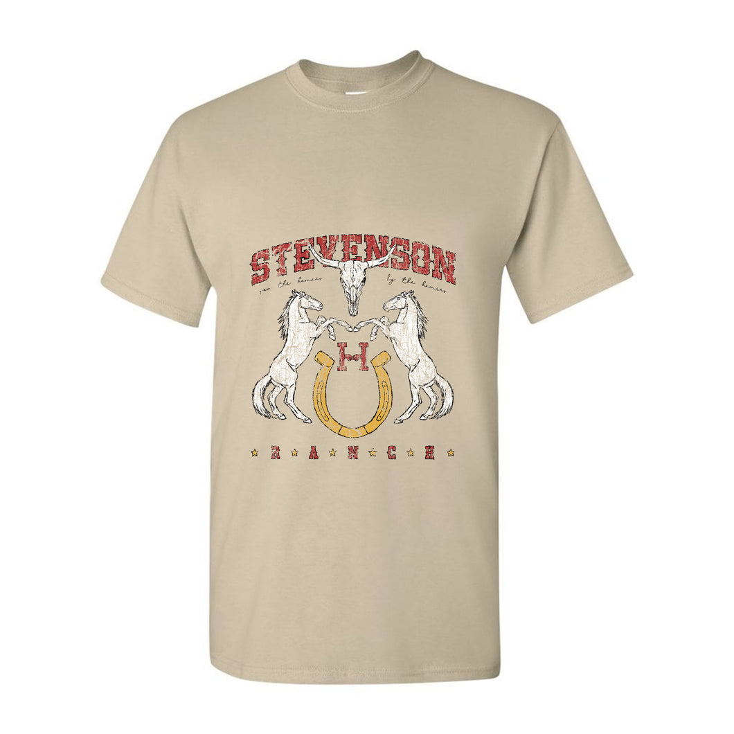 Vintage Stevenson Ranch T-Shirt (Tan)